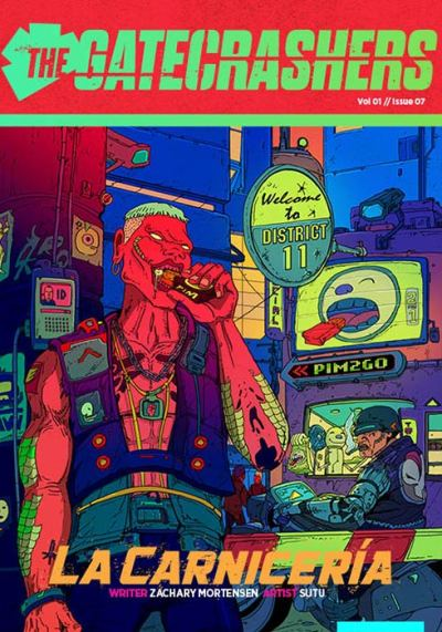 The Gatecrashers Issue 07 cover