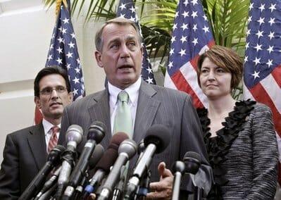 John Boehner, Cathy McMorris Rodgers, Eric Cantor