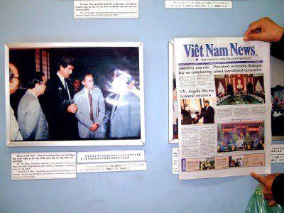 Image result for pics john kerry room n vietnmese war memorial