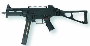 .40 caliber sub-machine gun