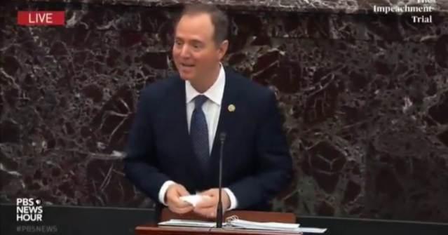 AWKWARD: Even Adam Schiff Acknowledges Everyone Wants Him to Stop Talking During His Marathon Impeachment Speech (VIDEO)