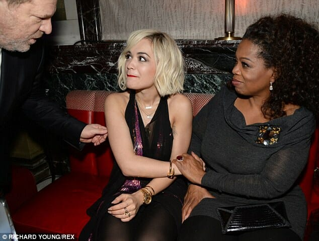 Flashback: British Actress Says Weinstein Used Oprah to Lure Her to His Room #MeToo