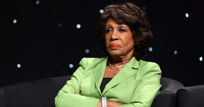 maxine waters mad