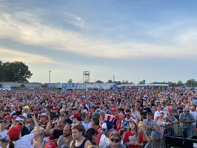 YouTube Takes Down Right Side Broadcasting's Video of Trump Rally with Over 2 Million Views — BANS THEM from Covering Trump Rally  — WATCH ON RUMBLE!