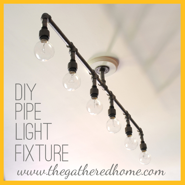 I Made A Plumbing Pipe Light Fixture! & How To Make A Fabulous Plumbing Pipe Light Fixture azcodes.com