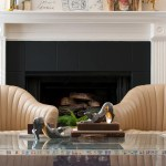 Diy Painted Tile Fireplace Surround The Gathered Home