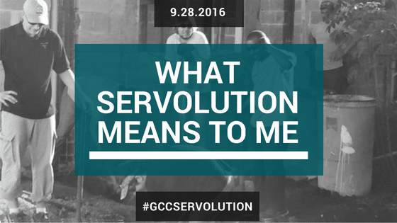 What Servolution Means to Me