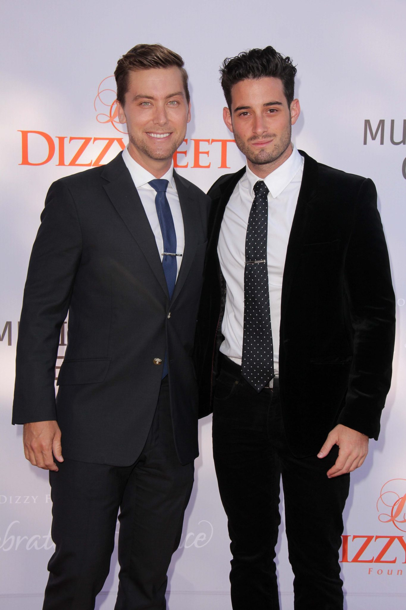 Lance Bass and Michael Turchiat the 3rd Annual Celebration of Dance Gala presented by the Dizzy Feet Foundation, Dorothy Chandler Pavilion, Los Angeles, CA 07-27-13