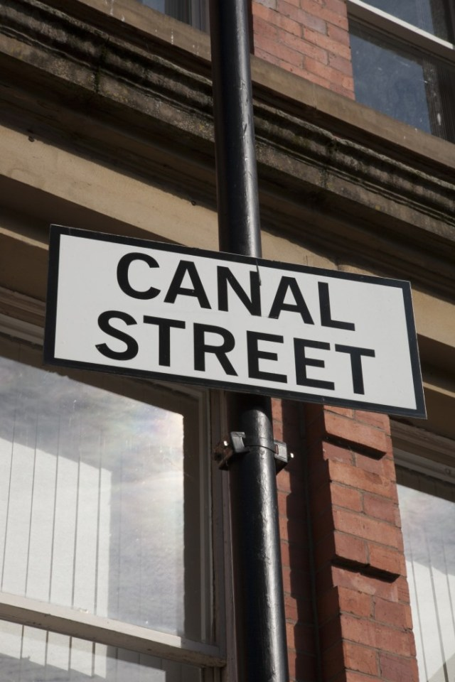 Canal Street in Manchester
