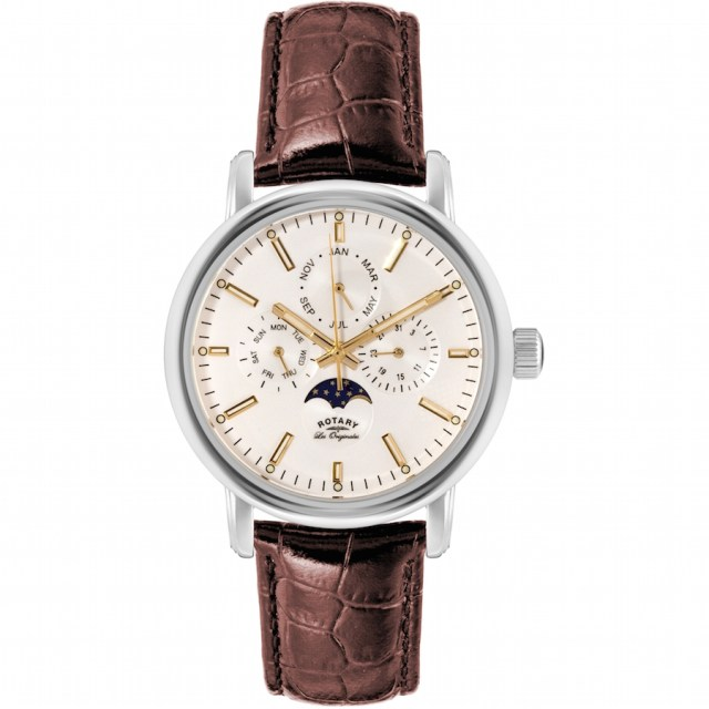 ROTARY MEN'S LES ORIGINALES MOONPHASE WATCH