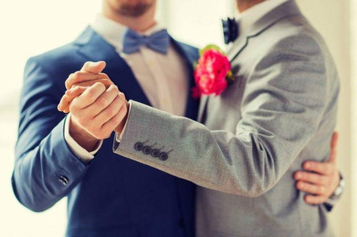 gay men getting married