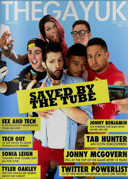 YouTubers Magazine Cover