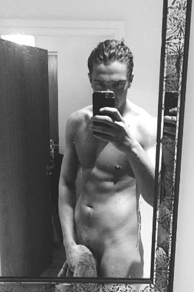 Lewis Bloor naked