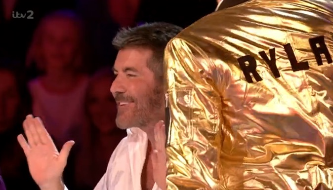 Simon Cowell gay joke