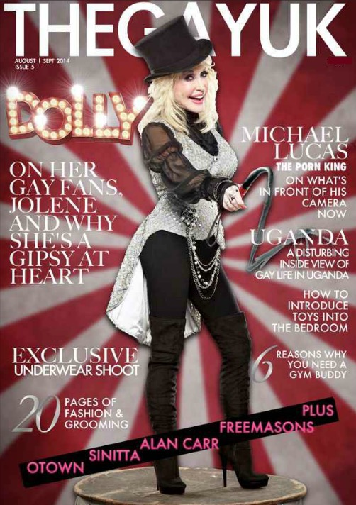 Issue 5 Dolly TheGayUK