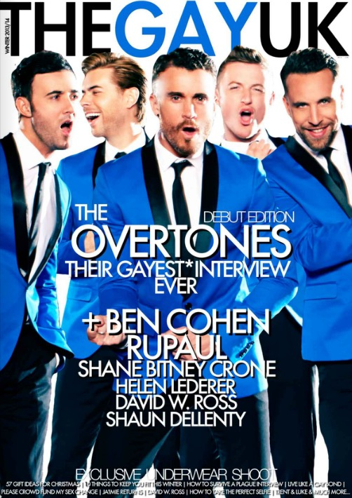 Issue 1 The Overtones TheGayUK