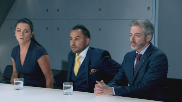 what is the apprentice board room like