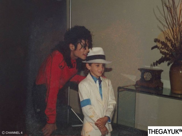 When is the Michael Jackson film on and what channel?
