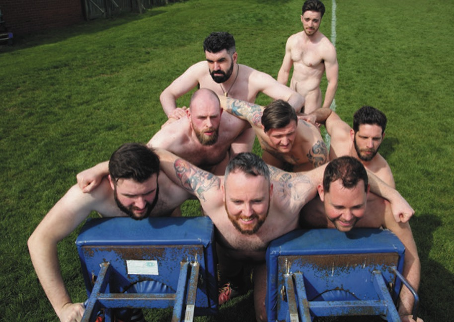 Naked Rugby Players 2021