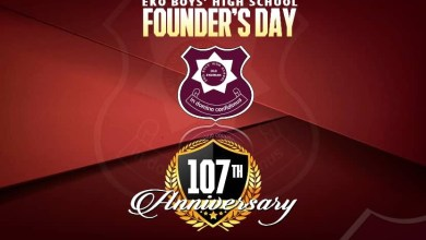Photo of EKOBA Plans Big For 107th Founder's Day