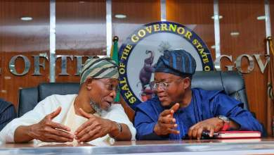 Photo of Images Of Aregbesola's Visit To Oyetola With Interior Ministry Management Ahead 2020 Retreat