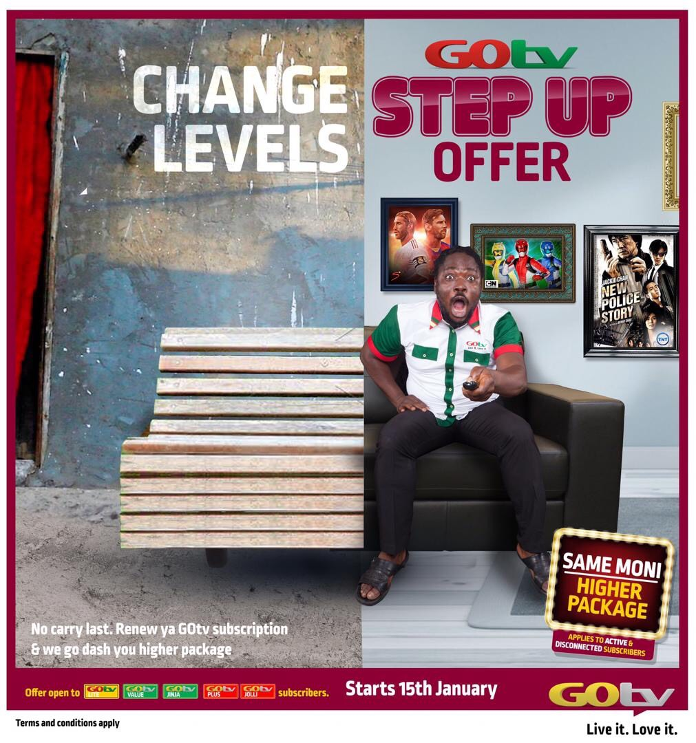 GOtv Step Up Is Back! Comes Up With Live Matches And Other Exciting Shows