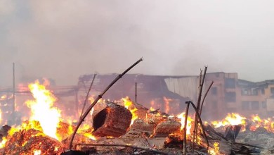 Photo of Just In: Midnight Inferno Destroys Multi Million Naira Properties At Mushin Popular Timber Market