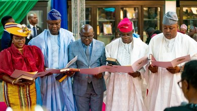 Photo of New Appointees Take Oath Of Office In Lagos, Gov Urges To Add Value To Governance