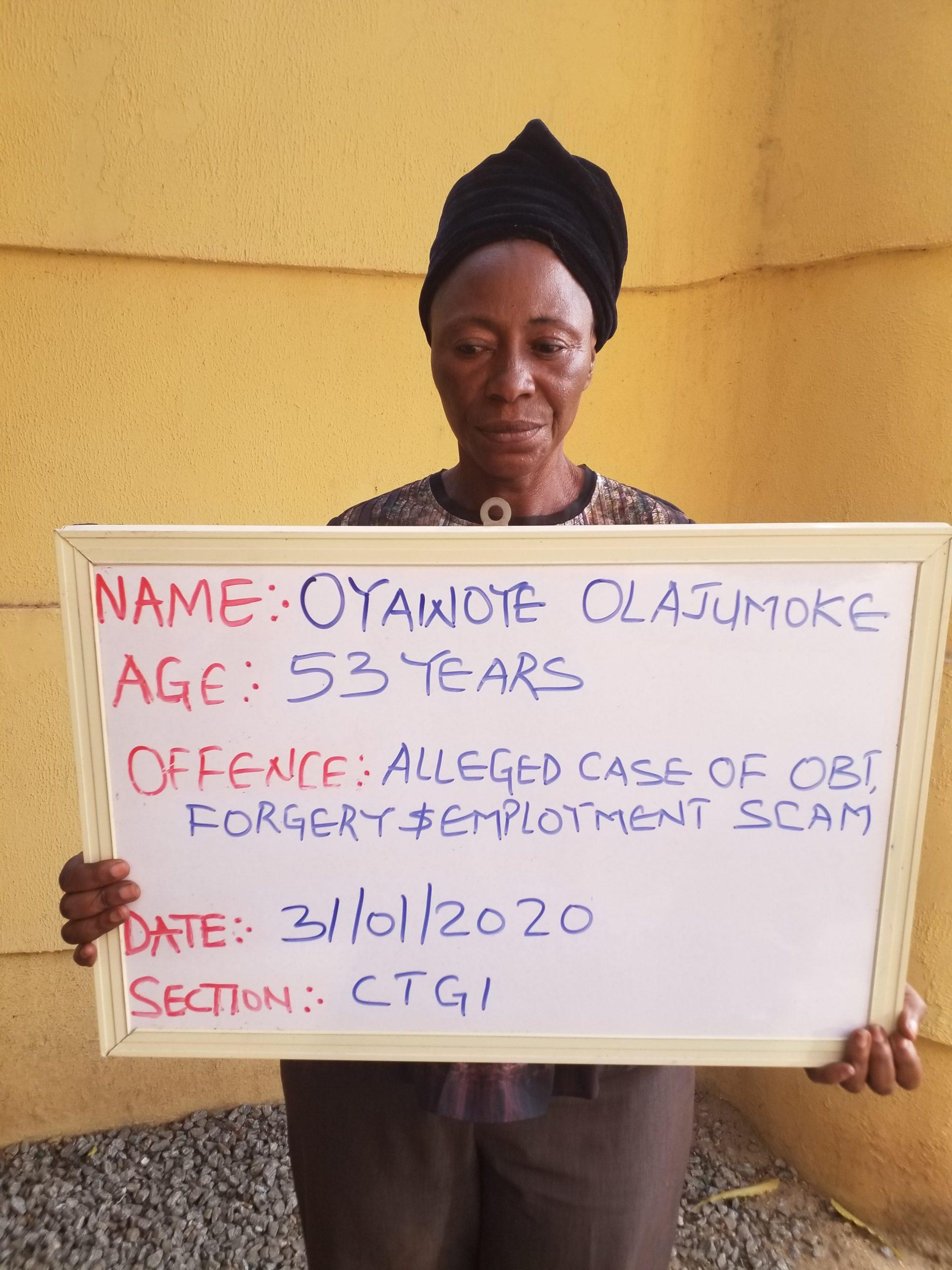 Kwara Civil Servant Sets Up Fake Employment Agency, Read Details Of Her Scam, Her Arrest + Photo