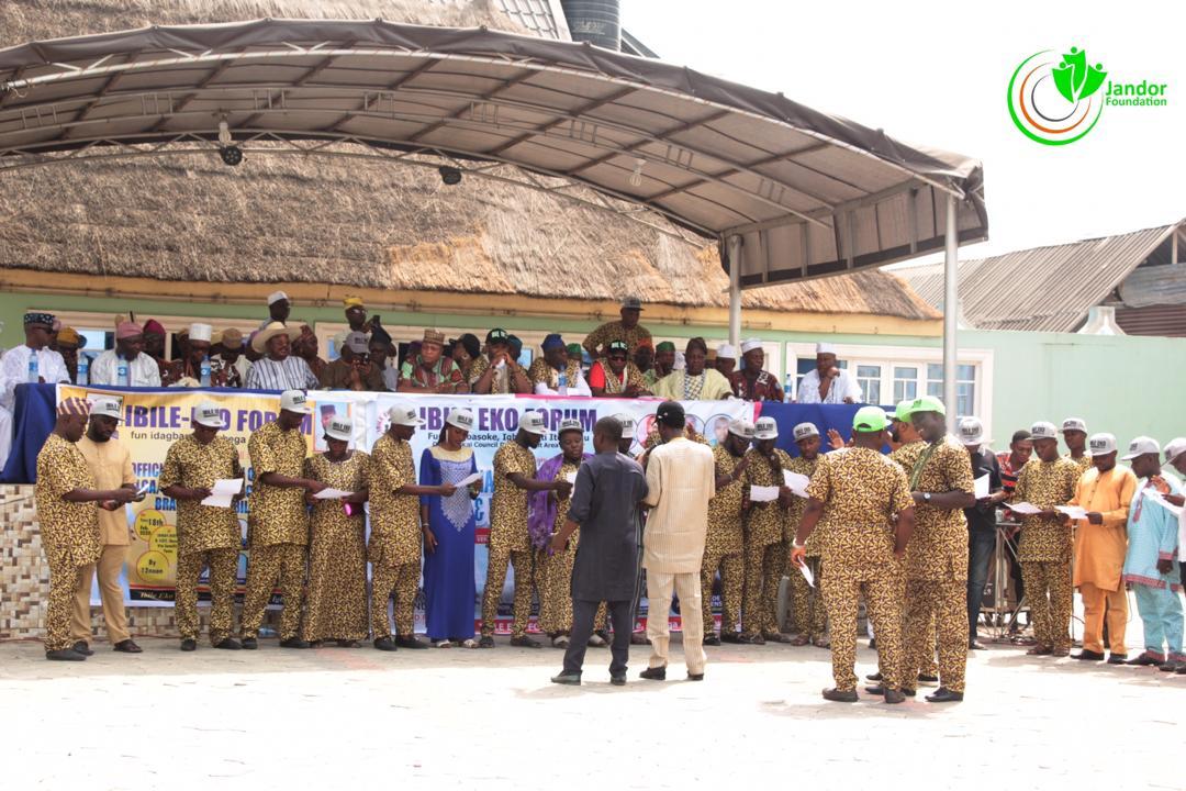 Adediran, Oki, Ibese Monarch, Others Grace Ibile Eko's Inauguration In Amuwo-Odofin, Oriade