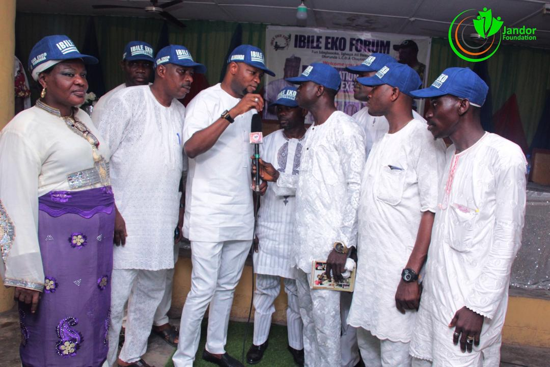 Team Jandor Inaugurates Olorunda Chapter