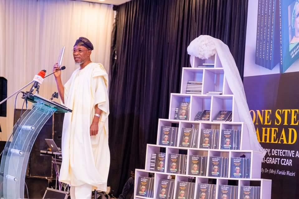 In Pictures, Aregbesola Launches Farida Waziri's Book On Buhari's Behalf