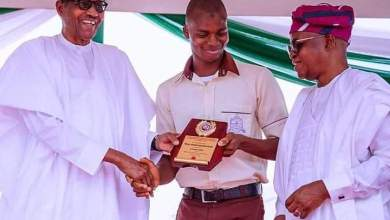 Photo of Osun Student Is Nigeria's Young Scientist Of The Year, Awarded Presidential Scholarship To PhD Level