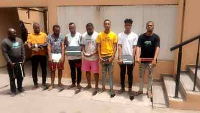 Photo of Imo 'Yahoo Yahoo' Boys In EFCC Net