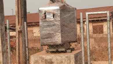 Photo of Reps Member Donates Transformers to Oluyole Communities