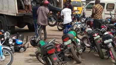 Photo of LASG Impounds 100 Okadas Operating On Restricted Routes
