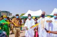 In Pictures, Aregbesola At Commissioning Of Operational Vehicles For Nigeria Correctional Service