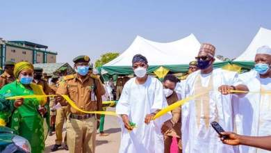 Photo of In Pictures, Aregbesola At Commissioning Of Operational Vehicles For Nigeria Correctional Service