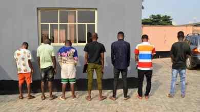 Photo of EFCC Arrests Seven 'Yahoo' Boys In Ibadan