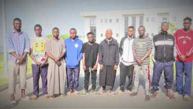 Photo of EFCC Storms 'Yahoo-Yahoo' Academy, Arrests 'Students' During 'Lecture'