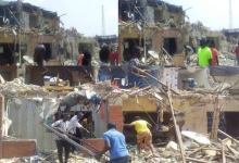 Photo of Videos: When Bulldozers Struck At Oyinlola Market In Festac Without Notice