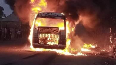 Photo of NPFL: Bus Carrying Wikki Tourists Players Bursts Into Flames