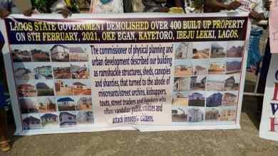 Photo of Residents of Oke-Egan Community, Kayetoro, Ibeju-Lekki Seek Compensation From Lagos Govt Over Demolition of Properties