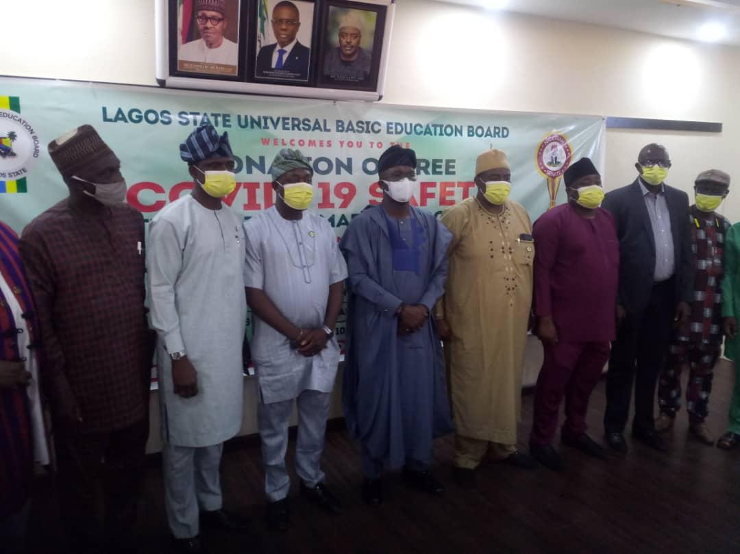 Abiru Donates 150,000 Facemasks To Pupils, Teachers In Lagos East