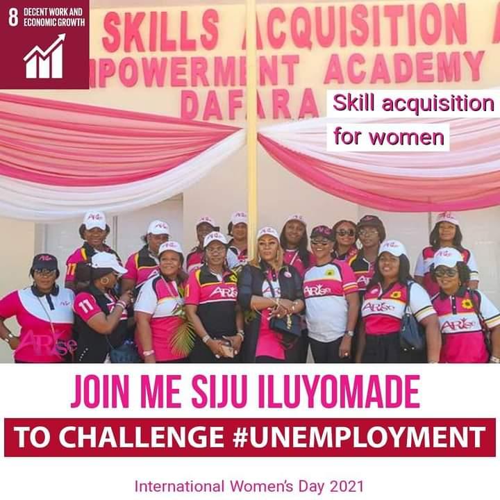 International Women's Day: How Arise Women Is Empowering Women To Be Self-sufficient - Siju Iluyomade