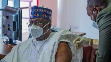 Photo of #COVID-19 Vaccination: Senate President Receives First Jab Of AstraZeneca Vaccine,  Urges More Sensitisation, Advocacy