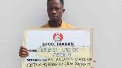 Photo of Court ConvictsTwo Fake EFCCOperatives, Eight OthersIn Abeokuta
