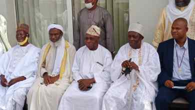 Photo of In Pictures, OBJ, Sheik Gumi Meet Over Nigeria's Security