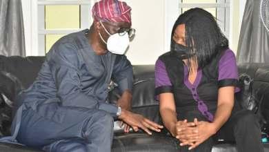 Photo of Sanwo-Olu Pays Condolence Visit To Yinka Odumakin's Family