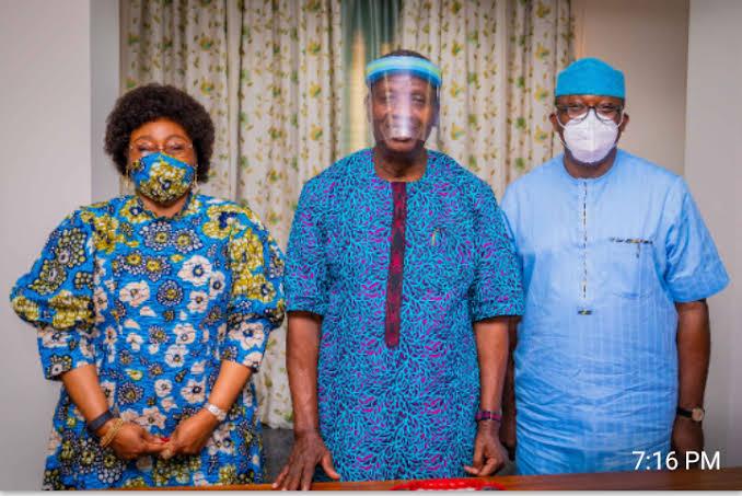Pastor Adeboye Meets Fayemi In Ado-Ekiti, Says Battle Against Banditry Will Soon Be Over
